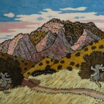 Bucksnort Trail 12/12, Landscape Paintings by Artist Robert Wassell