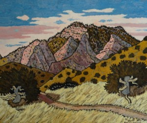 Bucksnort Trail 12/12, Landscape Paintings by Artist Robert Wassell