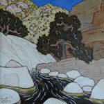 749. Sespe Trail Stone Corral 4/17