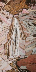 395. San Ysidro Trail 4/11, Landscape Paintings by Artist Robert Wassell