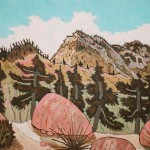 408. Little Mutau Trail 9/11, Landscape Paintings by Artist Robert Wassell