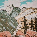 420. Tar Creek Trail 5/11, Landscape Paintings by Artist Robert Wassell
