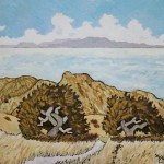450. Trespass Trail 12/11, Landscape Paintings by Artist Robert Wassell