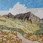 459. Cold Springs Trail 3/12, Landscape Paintings by Artist Robert Wassell