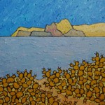 471. Deer Creek Trail 5/12, Landscape Paintings by Artist Robert Wassell