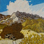 473. Don Victor Trail 5/12, Landscape Paintings by Artist Robert Wassell