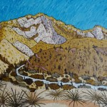 475. Sespe Trail 6/12, Landscape Paintings by Artist Robert Wassell