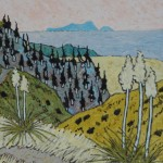 477. Last Chance Trail 7/12, Landscape Paintings by Artist Robert Wassell