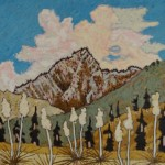 480. Piru GorgeTrail 7/12, Landscape Paintings by Artist Robert Wassell