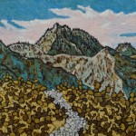 493. Johnston Ridge Trail 10/12, Landscape Paintings by Artist Robert Wassell