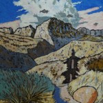501. Bucksnort Trail 11/12, Landscape Paintings by Artist Robert Wassell