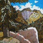 502. Lions Canyon Trail 11/12, Landscape Paintings by Artist Robert Wassell
