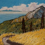505. Pratt Trail 1/13, Landscape Paintings by Artist Robert Wassell