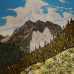509. Alder Creek Trail 1/13, Landscape Paintings by Artist Robert Wassell