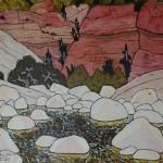 632. Sespe Trail Stone Corral 3/15