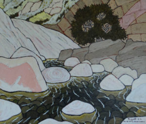 691. Sespe Trail Stone Corral 6/16