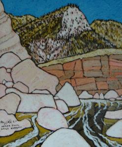 761. Sespe Trail Upper Narrows 8/17