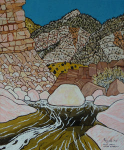 766. Sespe Trail Upper Narrows 7/17
