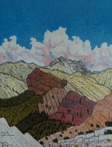 849. Hines Peak Trail 1/19