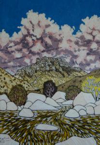 817. Sespe Stone Cairn 9/18